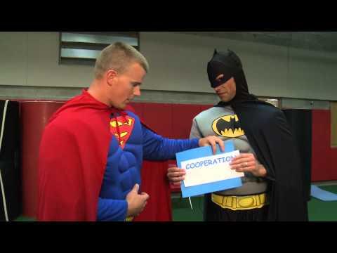 Branson Elementary West Duo - Batman and Superman