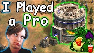 I Played an AoE2 Pro... Fat Dragon
