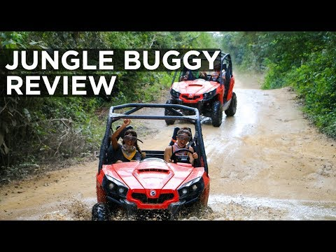 Jungle Buggy ATV Tour Review - Playa del Carmen, (Mexico), Riviera Maya 2017