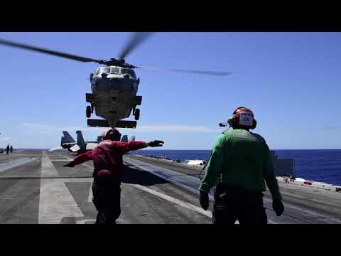 USS Ronald Reagan (CVN 76) Victory at Sea Feature in 2020