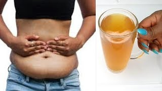 SHE SAID SHE TOOK 1 GLASS A DAY AND ALL HER BELLY FAT DISAPEARED