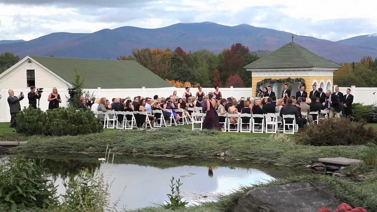 mountain view grand wedding video nh wedding film by meg