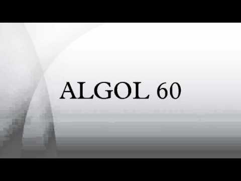 ALGOL 60