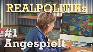 Angespielt: Realpolitiks - Endlich Bundeskanzler #1 (Gameplay / Tutorial)