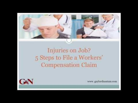 Injuries on Job: 5 Steps to File a Workers' Compensation Claim With Sound