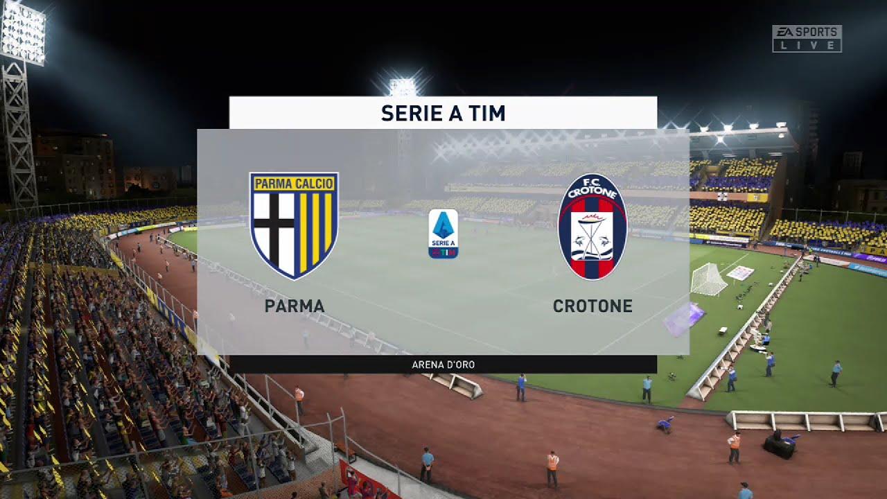 ⚽ Parma vs Crotone ⚽   Serie A (24/04/2021)