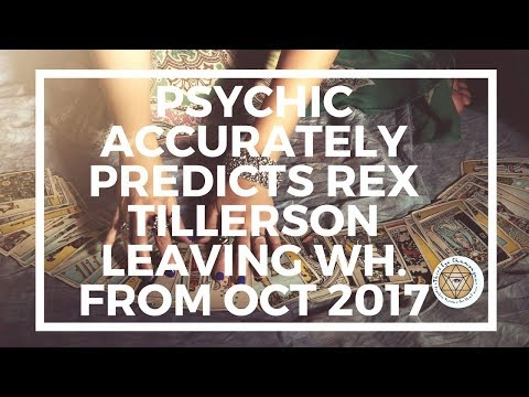 Q&D Psychic Predictions: Tillerson's resignation, Trump & Russian Election Interference