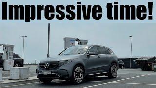 Mercedes Benz EQC 615km Range Test (NHSR)