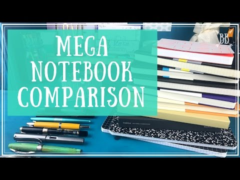 Mega Notebook Comparison
