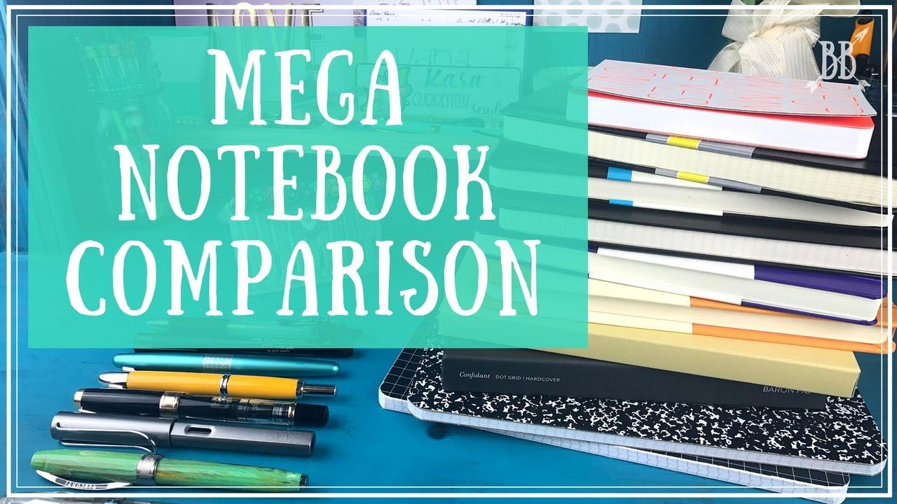 Mega Notebook Comparison