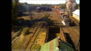 9/8/2018 Eight car train 216 departs from Chama, NM