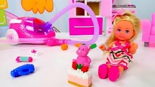 Дом Барби: уборка с Кеном и Штеффи. Мультик Барби