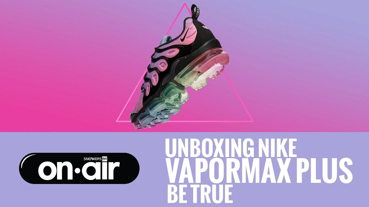 ca3bc66115cad SBROnAIR Vol. 72 - Unboxing Nike VaporMax Plus  Be True ...
