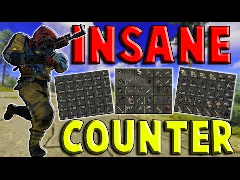 The INTENSE Counter RAID CLUTCH - (Crazy Loot) || Rust 1/2