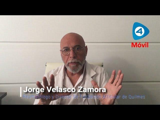 Cuáles son los tratamientos para la artritis psoriásica: entrevista al reumatólogo Jorge Velasco Zamora