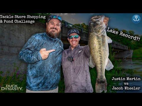 Lake Record Largemouth Bass Bank Fishing?! Tackle Shop Challenge