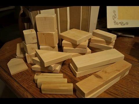 DIY Wooden Building Blocks