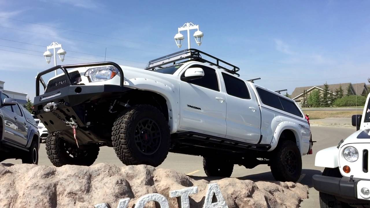 Lifted 2017 Toyota Tacoma Double Cab Overland Build