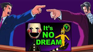 """Response to Game Theory's """"FNAF, Four Games. One Story"""" Theory"""