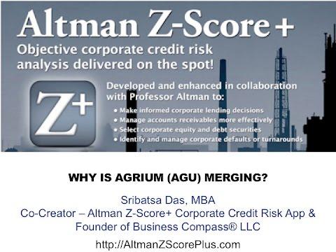 Why Is Agrium (AGU) Merging