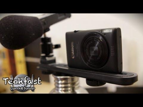 DIY Ultimate Vlogging Rig: Canon ELPH 300 HS + Zoom H1