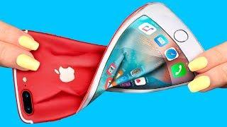 8 'KENDİN YAP' TARZI STRES ATICI TELEFON KILIFI / PRATİK TELEFON KILIFLARI!