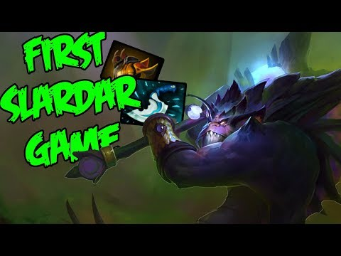 Suprisingly Strong - Gorgc Slardar First Time on New Patch