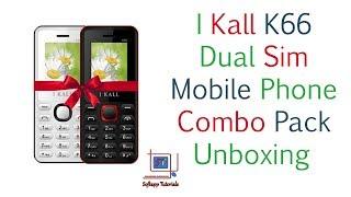 I Kall K66 Dual Sim Basic Phone Unboxing