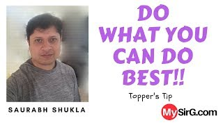 Do, what you can do best!!   | LIVE  (in Hindi)