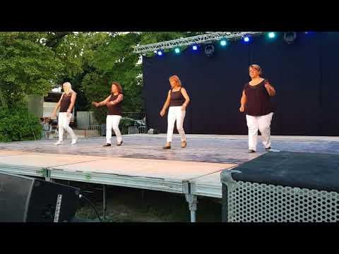 Sweet Caroline Line Dance Fête de la Musique 2018 Isle sur la Sorgue