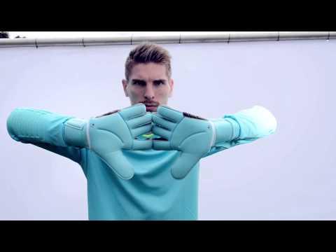 uhlsport - Goalkeeper Glove ELIMINATOR ABSOLUTGRIP 2015 HD