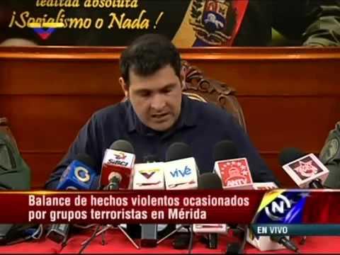 Gobernador de Mérida, Alexis Ramírez, sobre asesinato de GNB, gasoil en agua, etc.