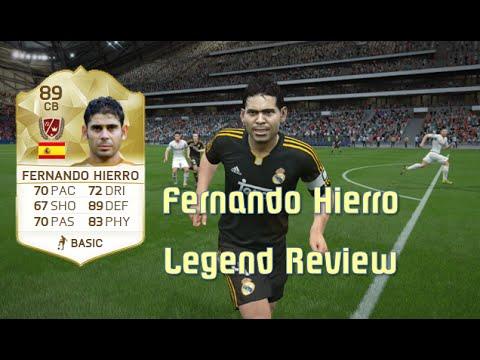 FIFA 16 - Fernando Hierro - Legend Review