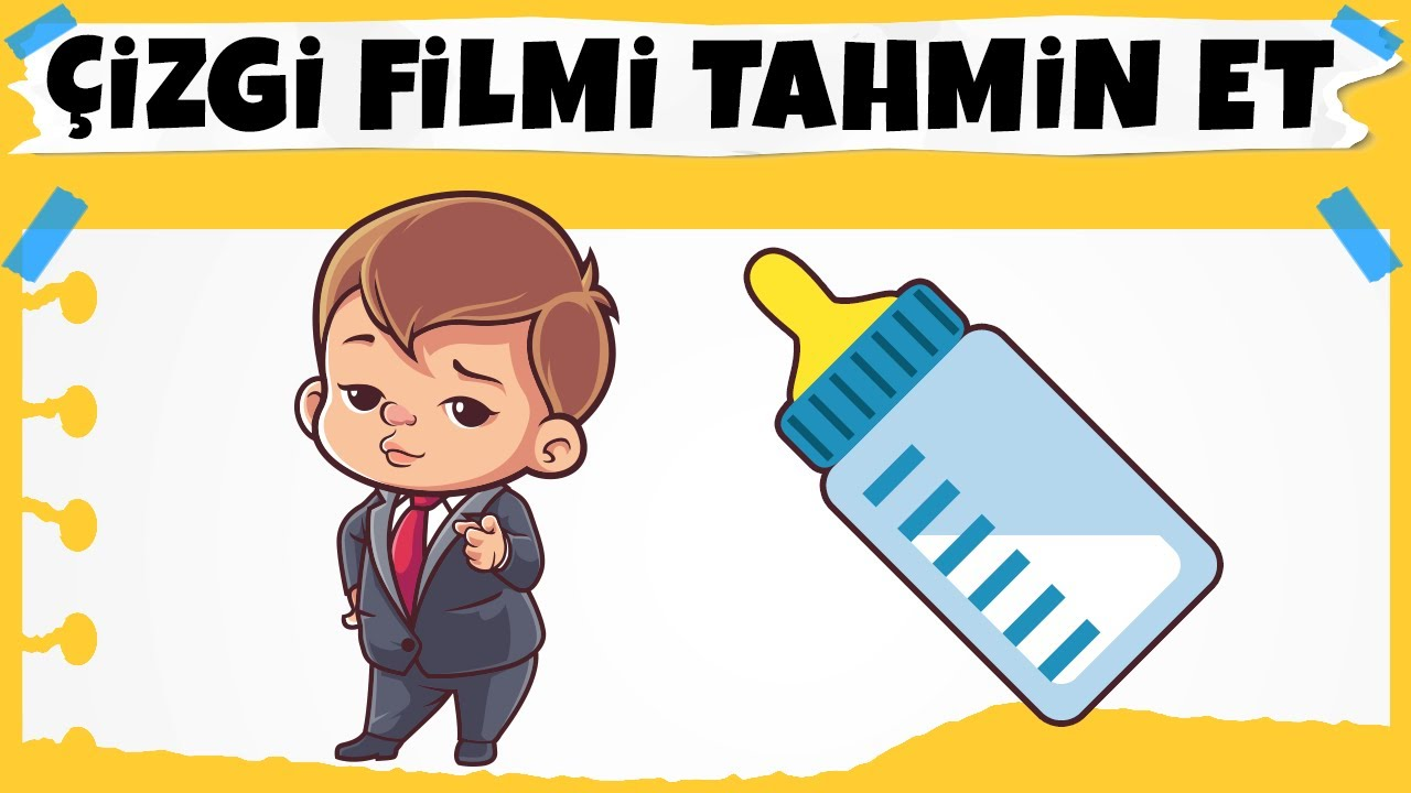 Bu Hangi Çizgi Film? EMOJİLERLE ÇİZGİ FİLM BULMACA ile 10 Saniyede Tahmin Et!