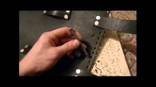Как сделать кофр батон для мотоцикла из кожи