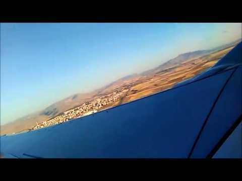 Conia airport  From the plane