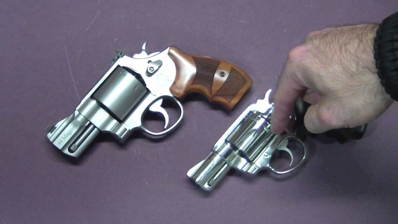 44mag Vs 357mag Concealed Carry Size Comparison Youtube