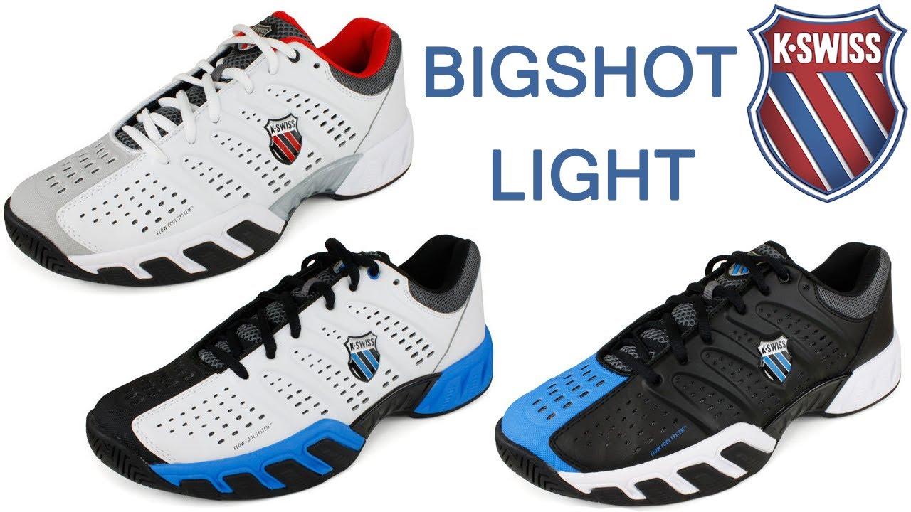 Tennis Express Shoe Guide | Men's K-Swiss BigShot Light - YouTube