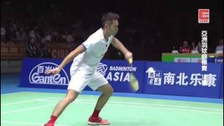 Lin Dan 林丹 vs Chen Long 谌龙 - 2017 Badminton Asia Championships MS Final [1080p HD]