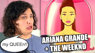 Vocal Coach Reacts To Ariana Grande, The Weeknd Save Your Tears