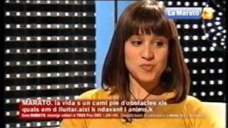 Entrevista a Aroa Sáez, afectada por el trastorno límite de personalidad. Marató TV3 2008