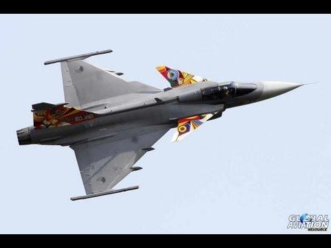 █▬█ █ ▀█▀ Saab JAS-39 Gripen - Air Show Radom 2013 - Czech Air Force