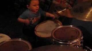 baby drummer genius jotan afanador ii 2 years old