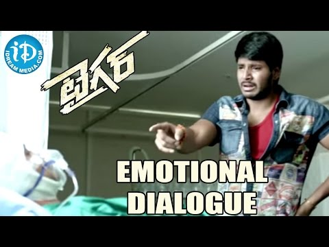 Tiger Movie Emotional Dialogue -  Sundeep Kishan | Rahul Ravindran | Seerat Kapoor | Thaman