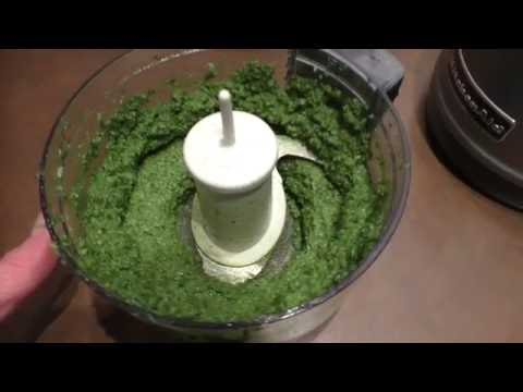 Homemade Pesto ~ Without Nuts!