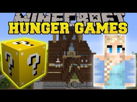 Minecraft: FROZEN HUNGER GAMES - Lucky...