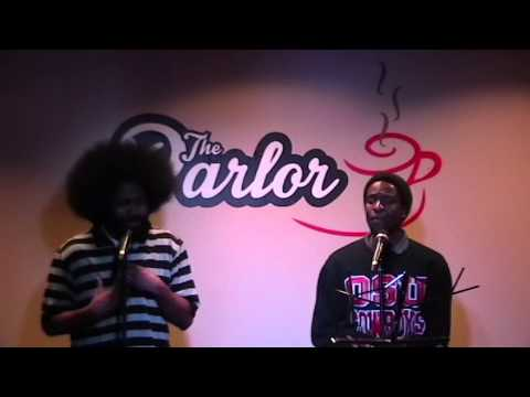 Stephen, Munya, & Lauren performing Discouraged @ The Parlor Jazz Club - February 2014