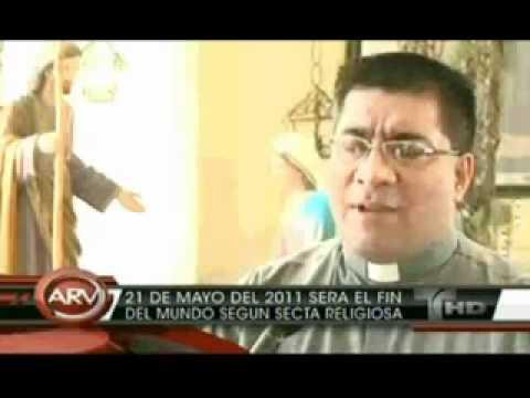O FIM DO MUNDO 21 de maio de 2011 TV HISPÂNICO TELEMUNDO