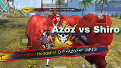 free fire challenge Azoz vs Shiro 🔥 تحدي الاساطير عزوز ضد شيرو