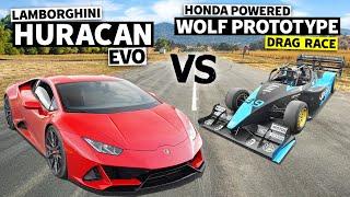 650HP K20 Powered Wolf (FASTEST car at '21 PPIHC) vs 2020 Lamborghini Huracán EVO // This vs That